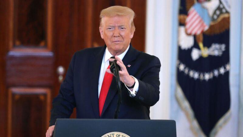 【重播】川普总统在美国精神展示会上发表讲话(同声翻译)