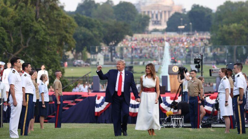 組圖:美國建國244週年 華府舉行慶祝活動