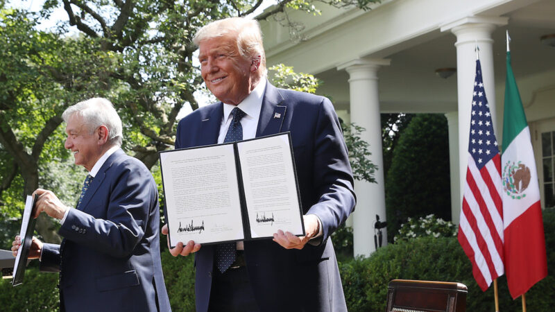 【重播】川普总统与墨西哥总统签署联合声明(同声翻译)