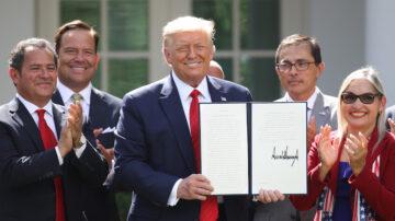【直播】川普签署《拉美裔繁荣倡议》行政令(同声翻译)