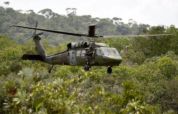 对抗游击组织 哥伦比亚直升机坠毁酿9死6伤