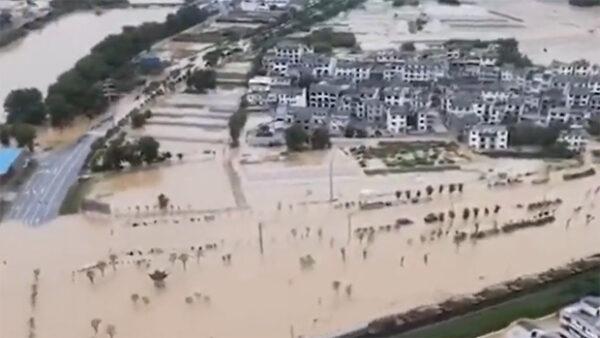 大陸疫情未過洪水頻襲 官方救助不力致民生艱難