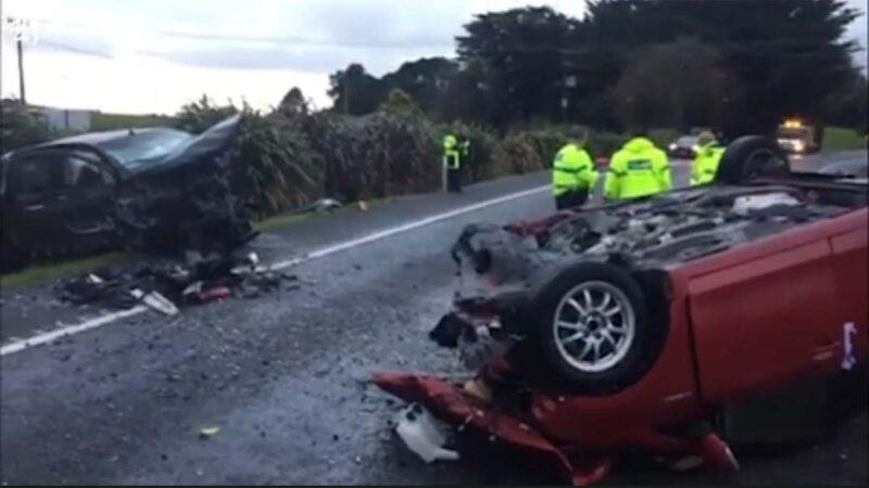 参与者突遭惨烈车祸 新西兰反共集会传取消