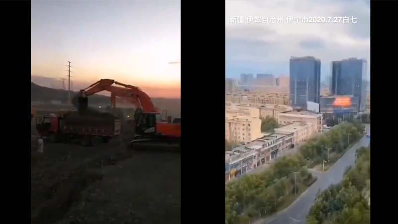 传乌鲁木齐方舱医院动工 伊犁首府封城(视频)