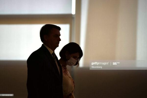 巴西总统染疫 妻子及2女儿测试呈阴性