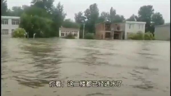 安徽宿松破堤泄洪 仅给6小时转移 村民损失惨重