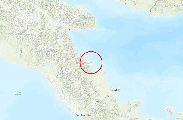 6.9級強震襲巴布亞新幾內亞 發布海嘯警報