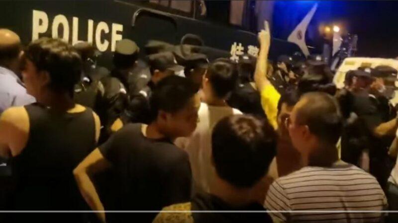垃圾站污水接入自来水管致病 杭州村民维权遭镇压