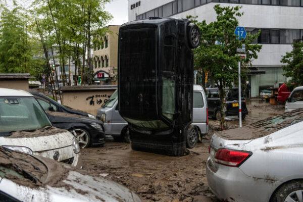 熊本致災大雨 水深達9公尺 增至24死16命危