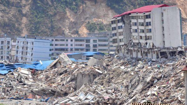 異象:一週內發生14起地震 中國將有巨變?