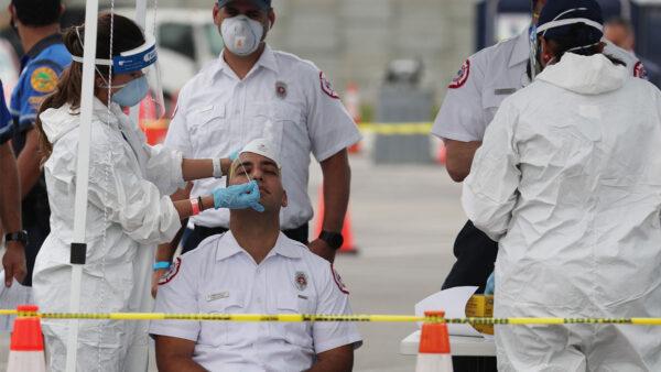 佛州检测100%阳性严重造假 医院数据被要求直交白宫