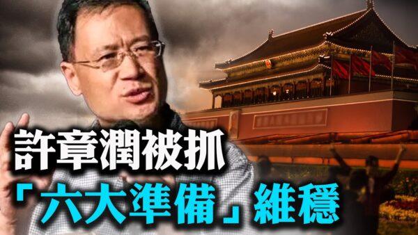 """【唐靖远快评】许章润""""被嫖娼""""不简单!习""""六大准备""""维稳"""
