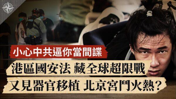 【世界的十字路口】港区国安法 藏全球超限战 又见活摘器官 北京宫斗火热?