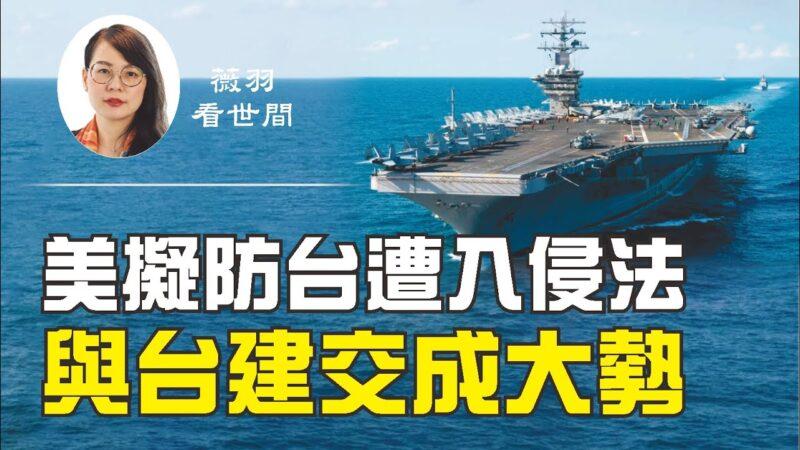 【薇羽看世間】台灣未來將擔大任?美擬《防止入侵台灣法》