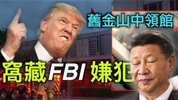 【德传媒】旧金山中领馆窝藏FBI通缉犯 美国对中共政策招招致命,智囊竟是他……