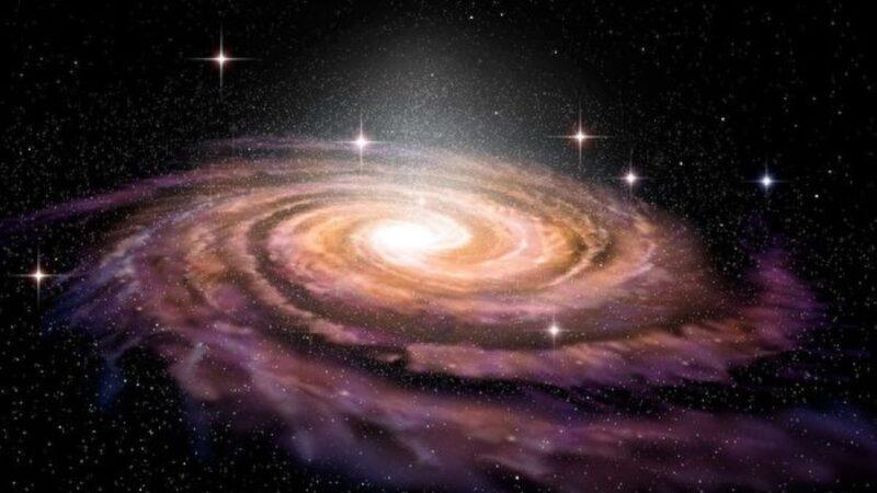 研究發現一條星鏈飛向銀河中心