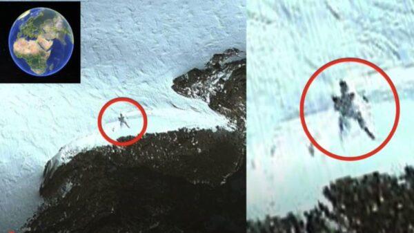 """南极山脉地区惊现""""雪人""""!高22.69米"""