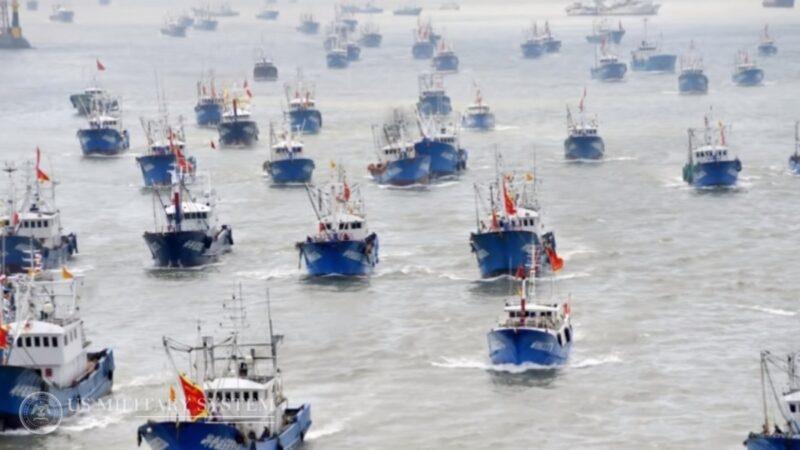 中國325艘漁船驚現厄瓜多爾外海 百餘艘關通訊避監控