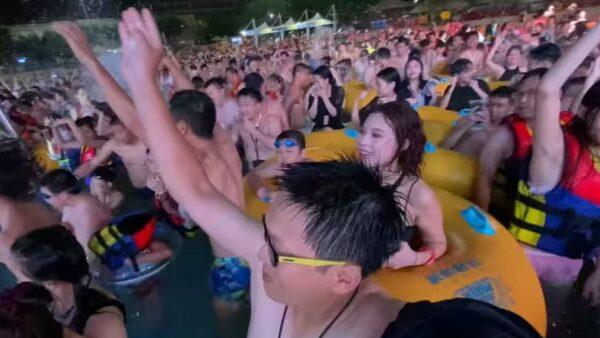 武漢再現「萬家宴」 電音節狂歡令外媒嘩然