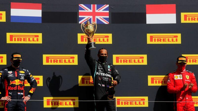 F1英国站:梅奔最后双爆胎 小汉惊险登顶