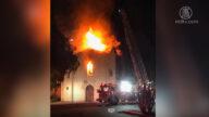圣市教堂火灾后要重建 市议员分析起火原因
