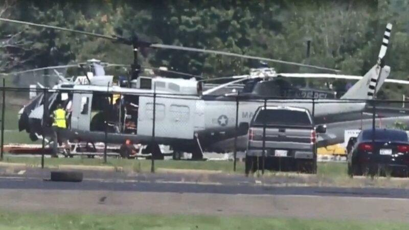 美军直升机训练时 遭来自地面枪击1伤