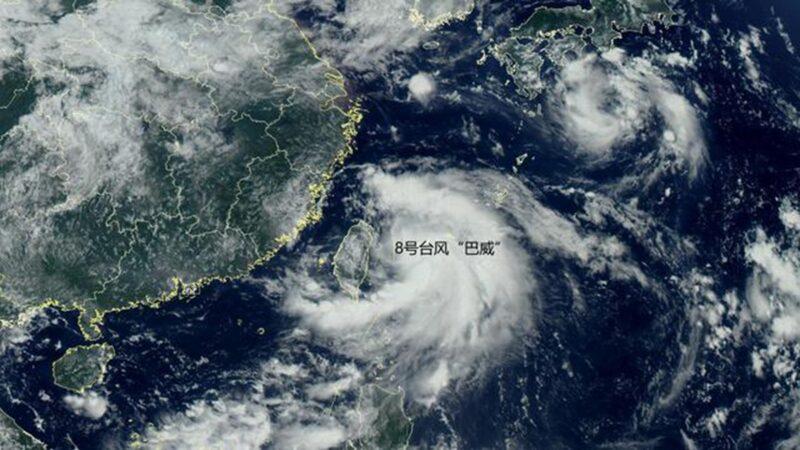 颱風「巴威」加速移動 直撲中國東北、朝鮮