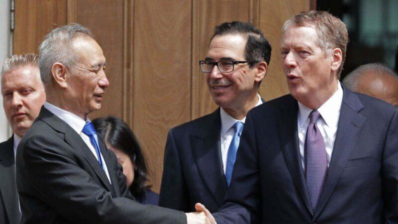 中共稱将與美方會談貿易協議 華府未置評