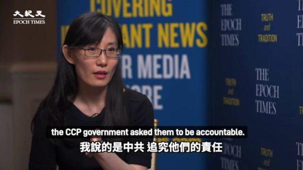 英文大纪元专访闫丽梦 揭中共掩盖疫情内幕