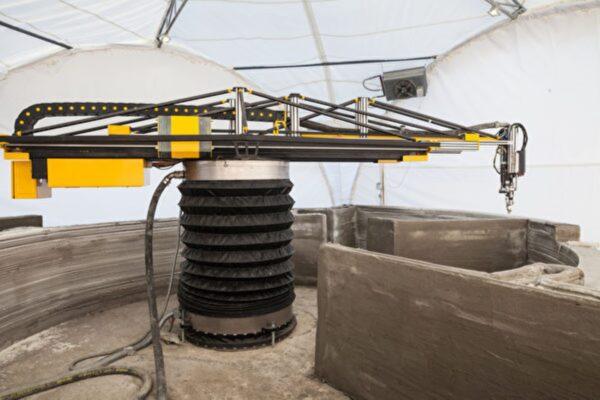 欧洲最大3D列印机建2楼房屋 抗压强度更佳