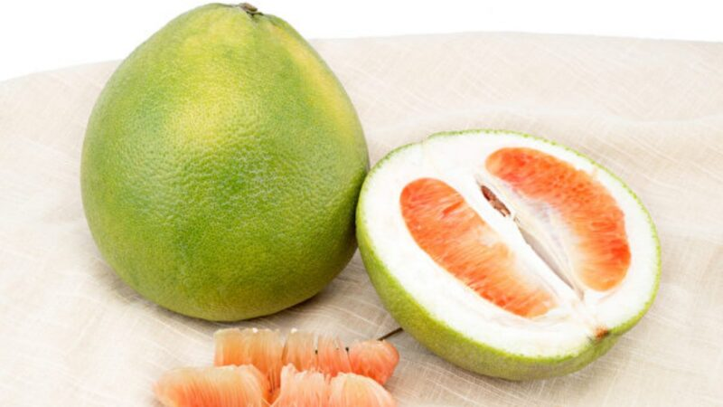 红柚、白柚哪个更营养?营养师教你煮柚子酱