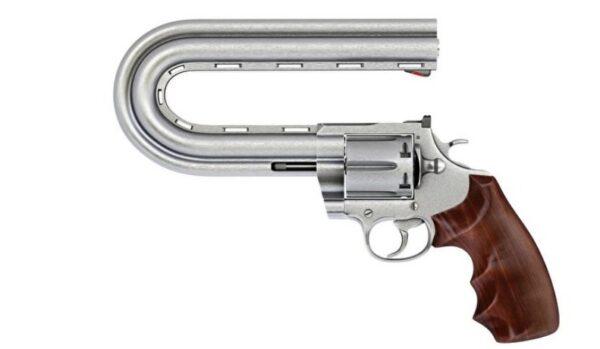 枪管弯曲 子弹也会拐弯吗?