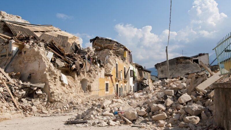明朝大地震中的奇異事件