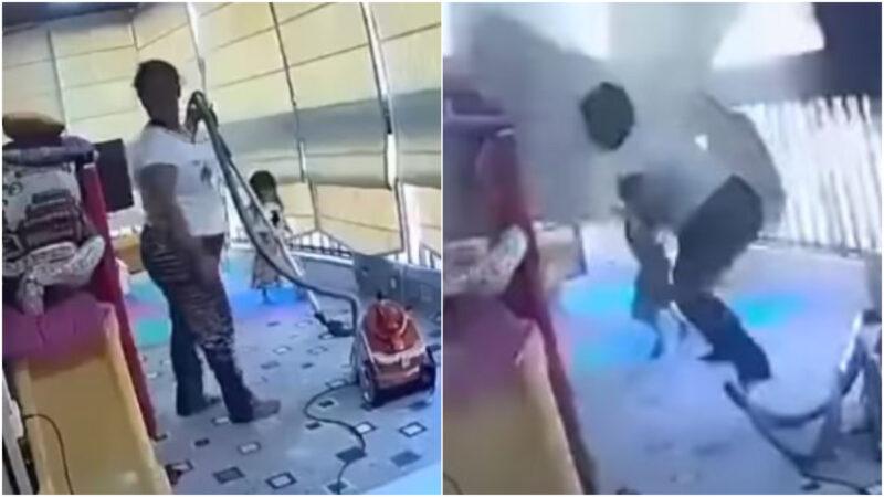 黎巴嫩大爆炸 女傭飛身急抱屋主女兒避難獲讚