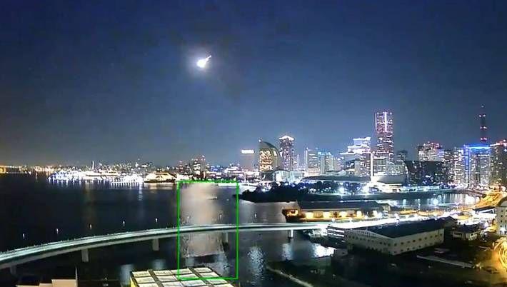 2個月內2起 日本關東驚現「滿月級」神秘光球