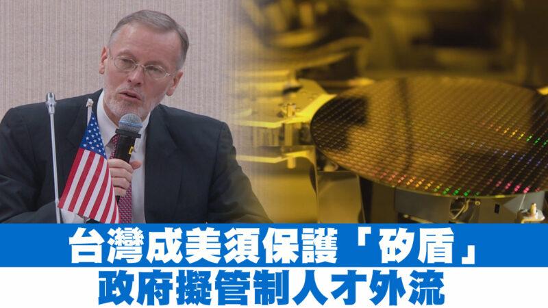 """台湾成美须保护""""硅盾""""政府拟管制人才外流"""