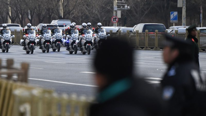 中共公安部長作個人檢查 政法系疑有大風暴