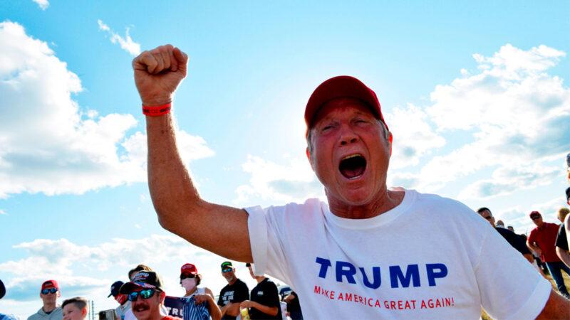 川普摇摆州选情上升 民主党恐慌情绪公开化
