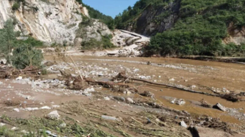 陝西洛南暴雨致5人死亡10人失蹤