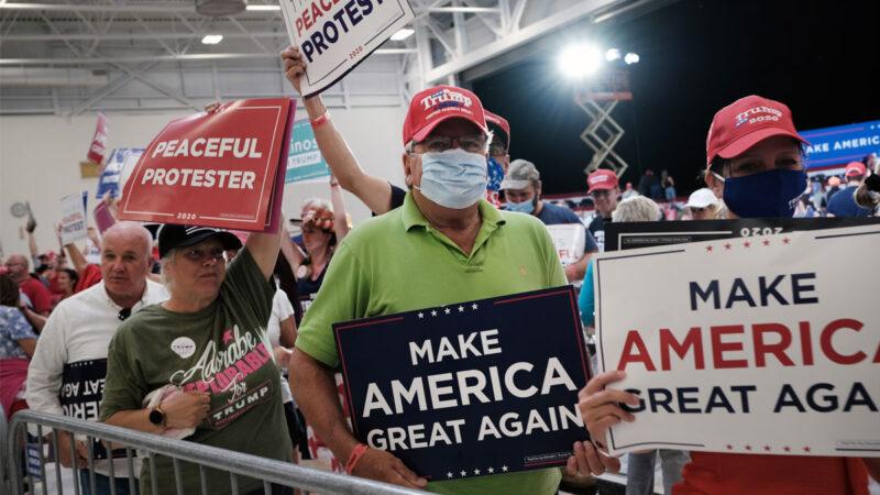 暴徒滋擾共和黨大會與會議員 川普強烈譴責獲民力挺