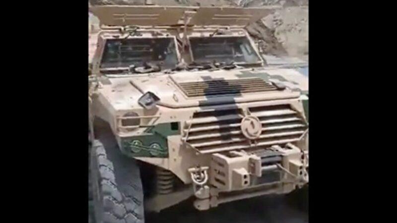 傳中共軍車造假上陣就被打穿 軍工廠2虎落馬