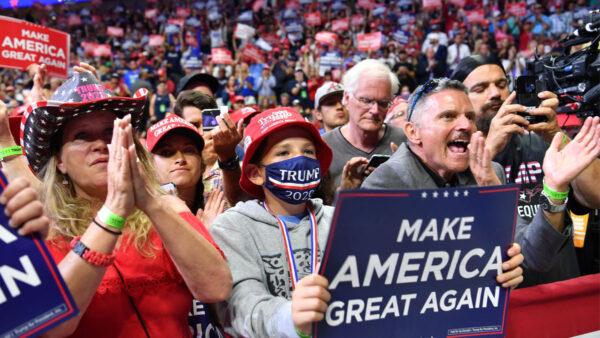 民調:川普支持率領先拜登 優勢或遠超2016