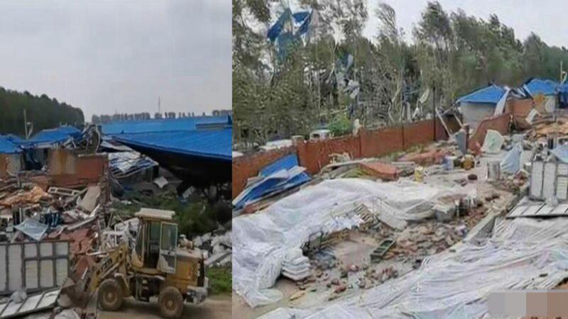 中国粮食短缺又遇灾!龙卷风突袭黑龙江