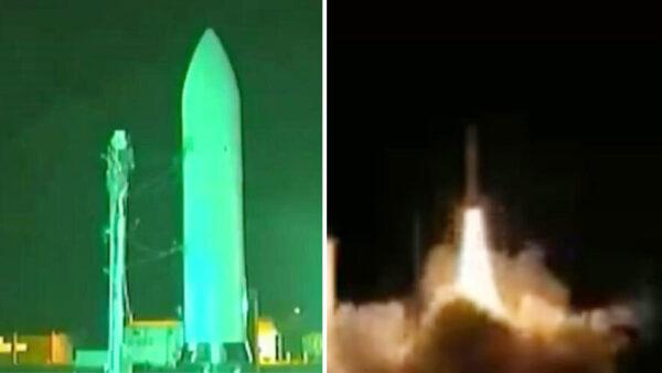 美军公布超高音速导弹试射画面 速度是东风导弹2倍