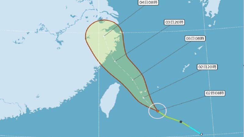 轻台哈格比略增强 台发布海上台风警报