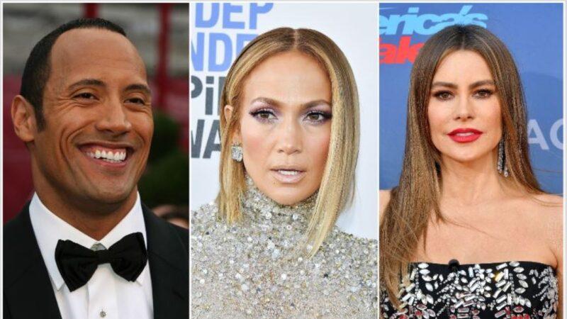 全球年收入最高明星出爐 男星比女星更吸金