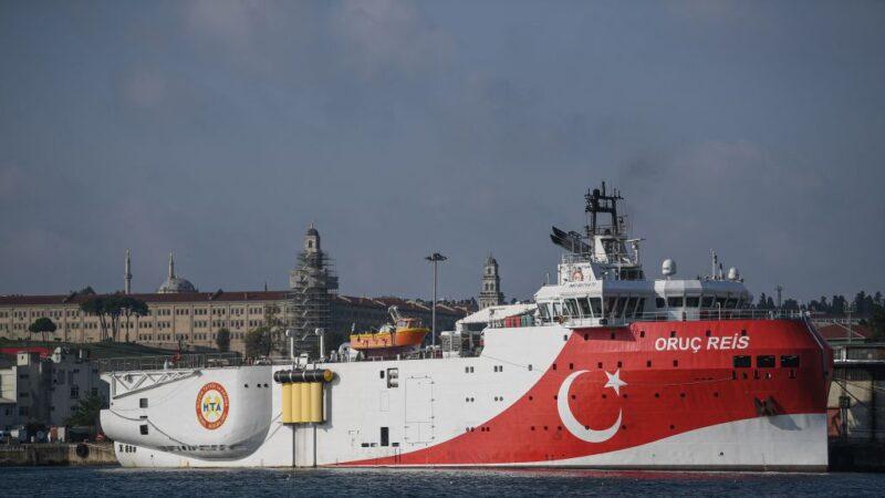 地中海东部实弹演习 土耳其与欧盟紧张加剧