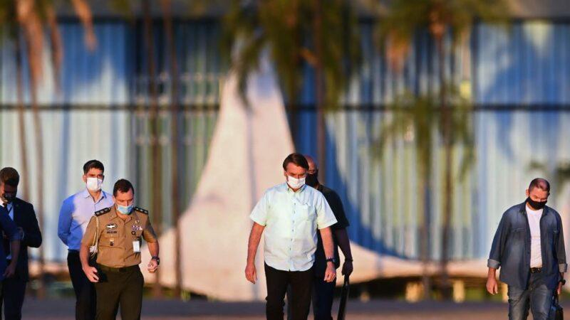 巴西总统府沦疫情重灾区 178公务人员染疫