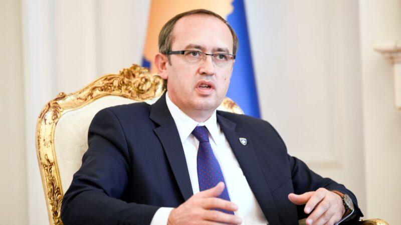 科索沃总理霍蒂染疫 自主隔离两周