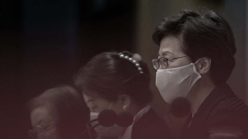 林鄭宣布推遲立法會選舉1年 黃之鋒批政治舞弊